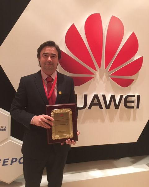 Grupo Visabeira premiado na Huawei Global Engineering Partner Convention 2016