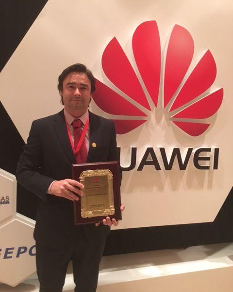 Grupo Visabeira premiado na Huawei Global Engineering Partner Convention 2016
