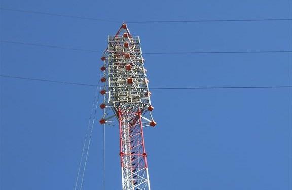 Viatel instalou torre com 70 metros de altura para a RTP em Portalegre